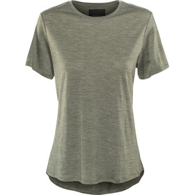 Alchemy Equipment 180GSM Merino Relaxed Tee Dame gunmetal marle